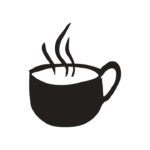 Bad Coffee Club Logo on Privacy Policy Page