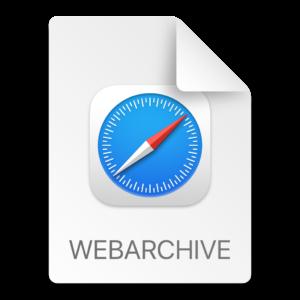 Safari Webarchive File Format