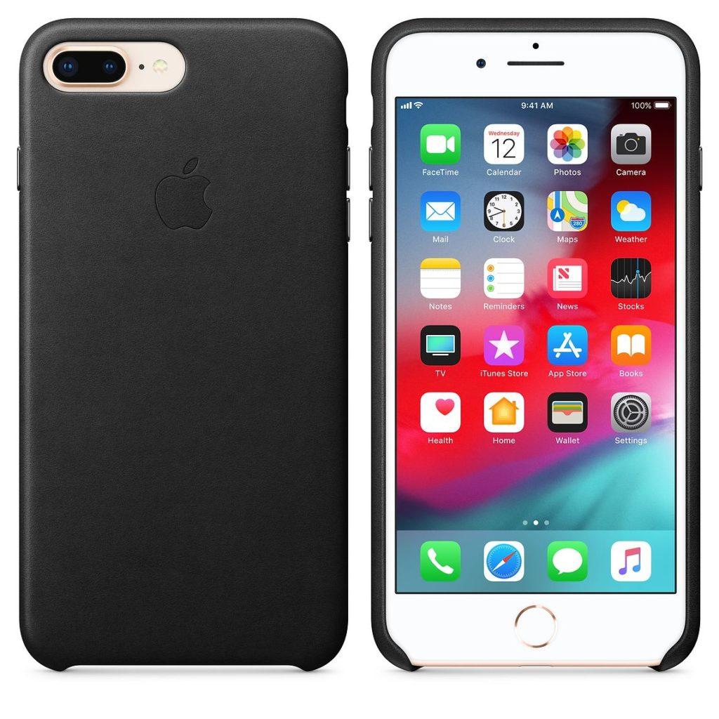 iPhone 7 8 Plus Leather Case
