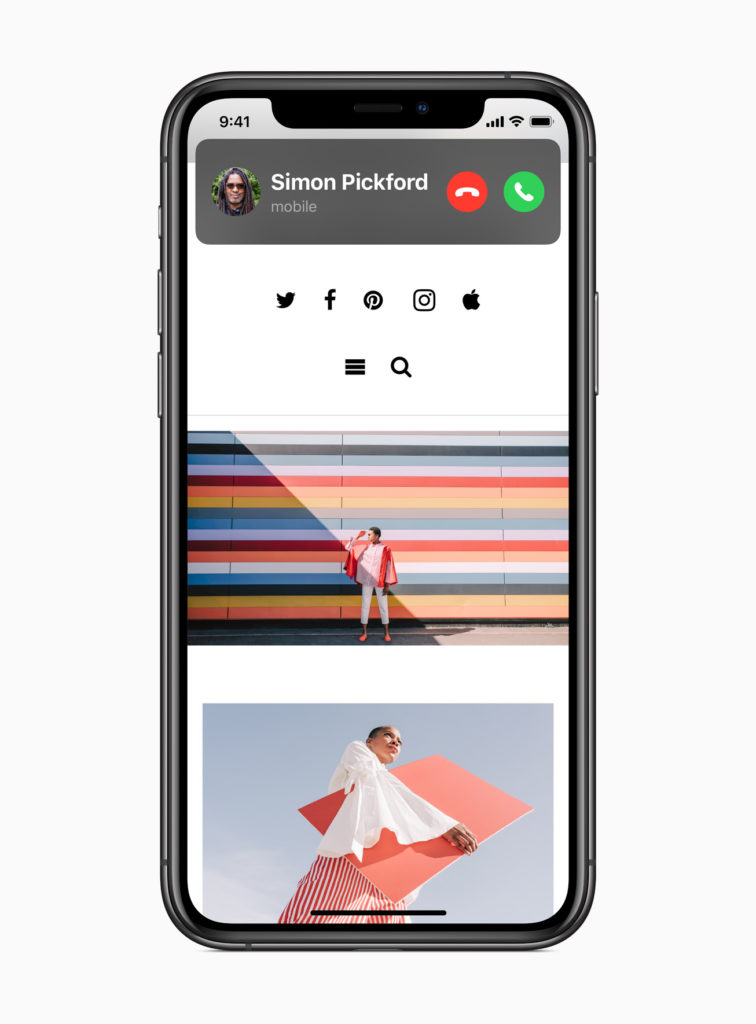 Incoming Calls Banner in iOS 14