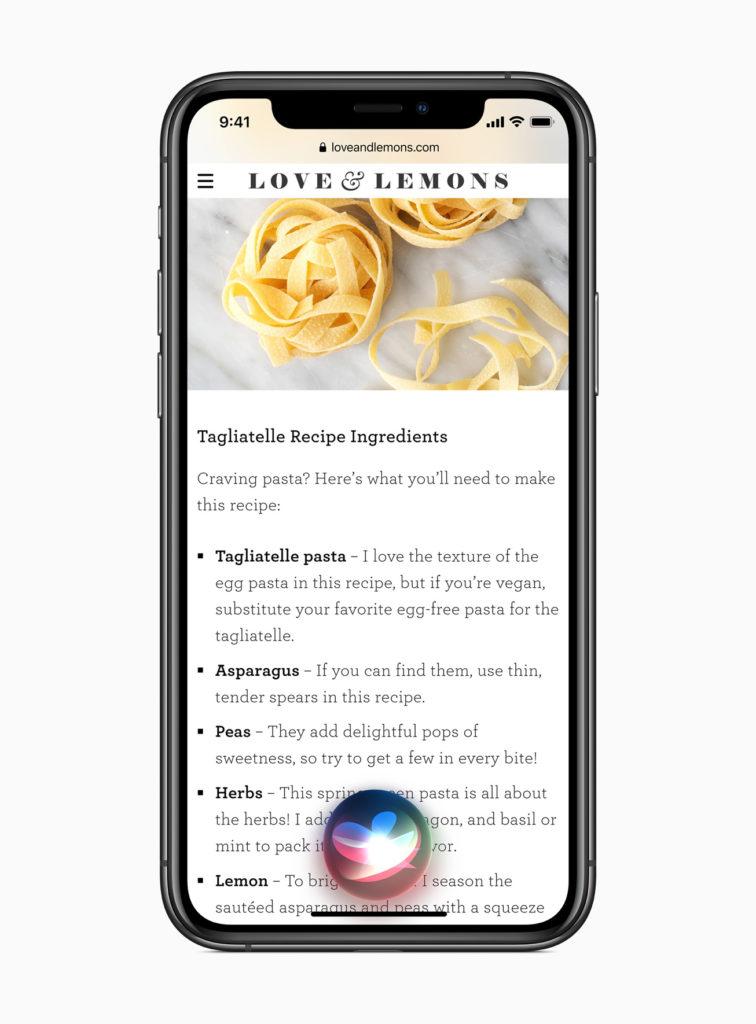 iOS 14 Compact Siri UI