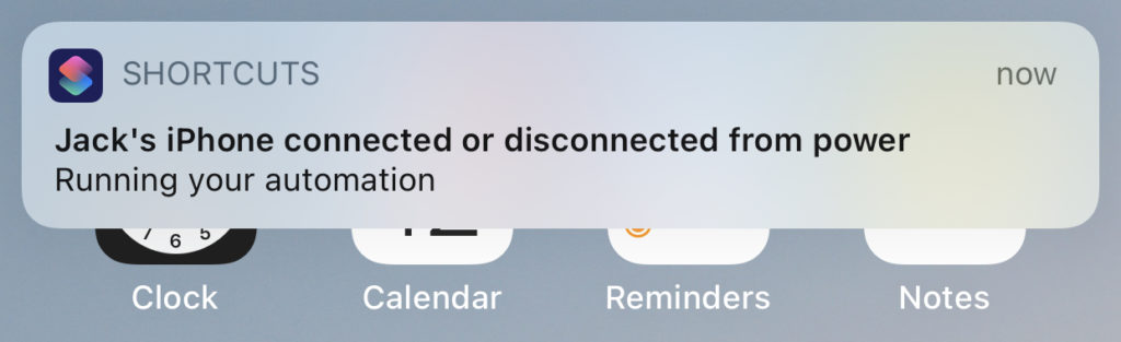 Battery Level Automation Notification
