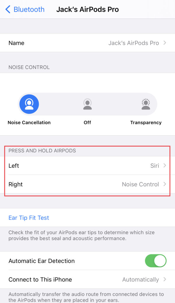 AirPods Pro tips: use on ear for Siri and the other for noise control