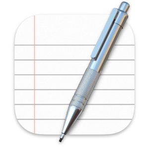 macOS TextEdit App Icon