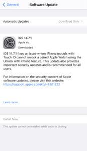 iOS 14.7.1