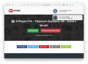 noTube - download YouTube videos