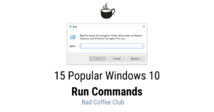 Read more about the article 15 Popular Run Commands for Better Efficiency with Windows 10